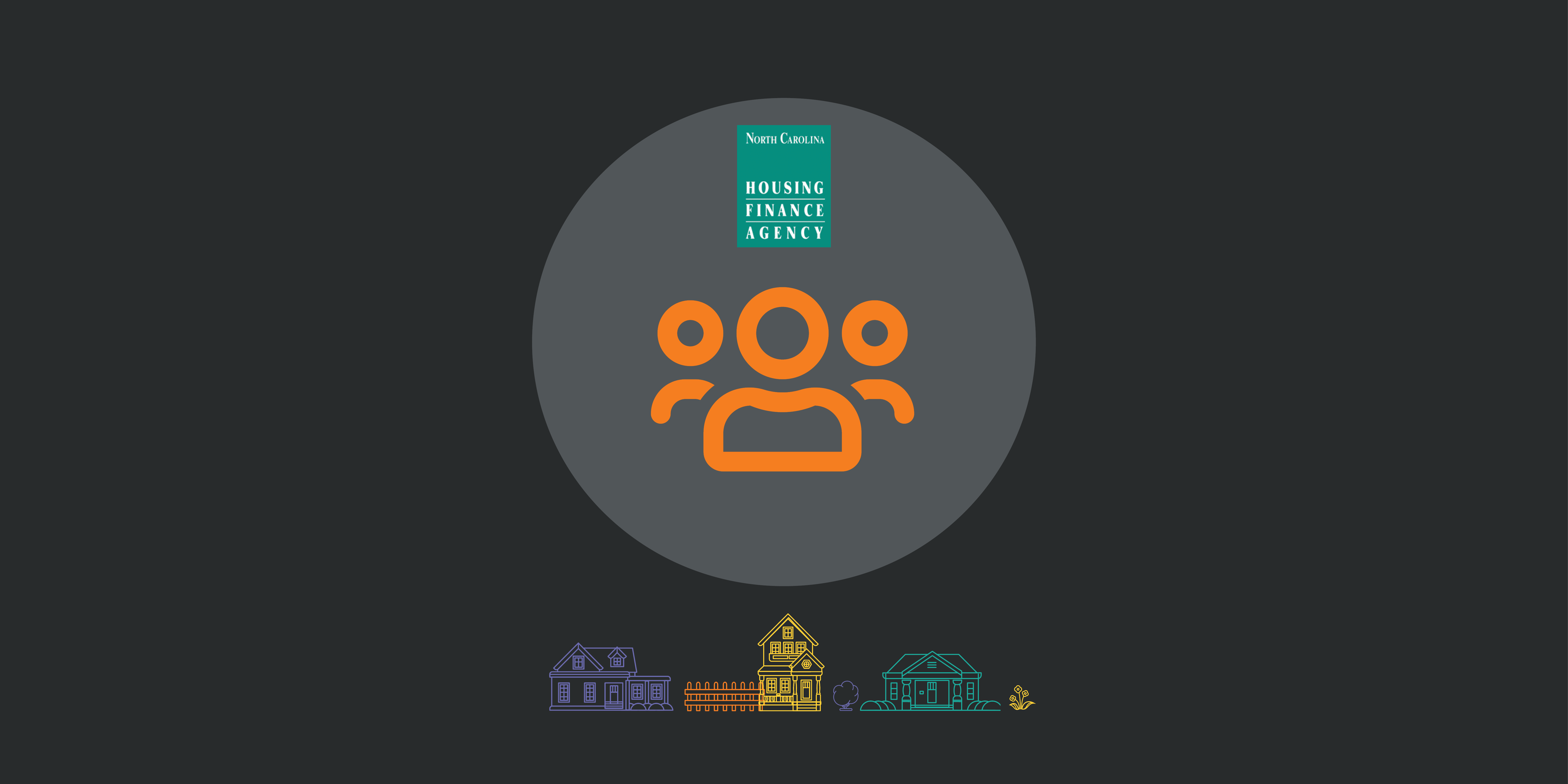Orange community icon