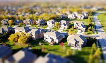 Photo of a neighborhood