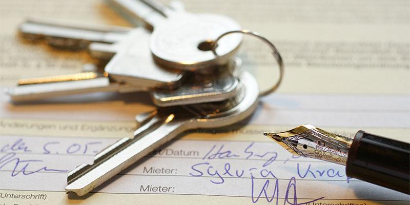 a set of keys on a desk