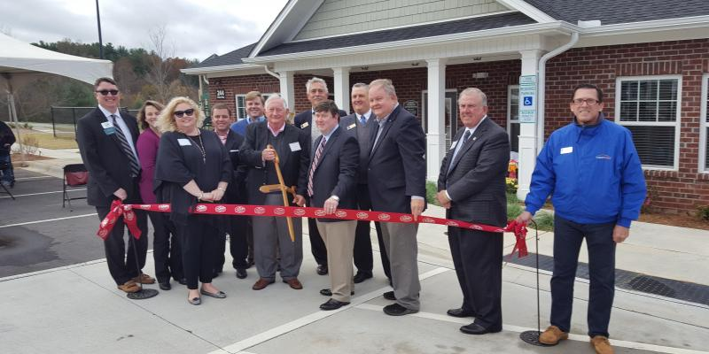 Grand Opening for Cedar Terrace Held Nov. 13; Hendersonville to Gain 80 Apartments for Working Families