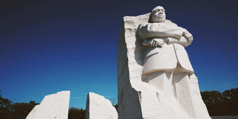MLK Jr. monument