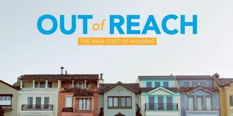 NLIHC's Out of Reach report cover